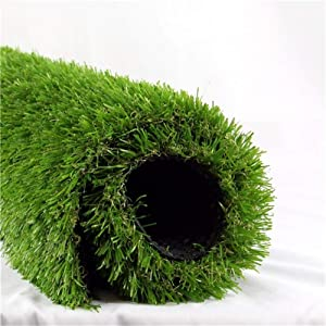 Artificial Grass Turf Realistic Fake Grass Synthetic Thick Lawn Grass Mat Pet Turf Outdoor Garden Landscape (5ft x 3.3ft (16.5 Square ft))