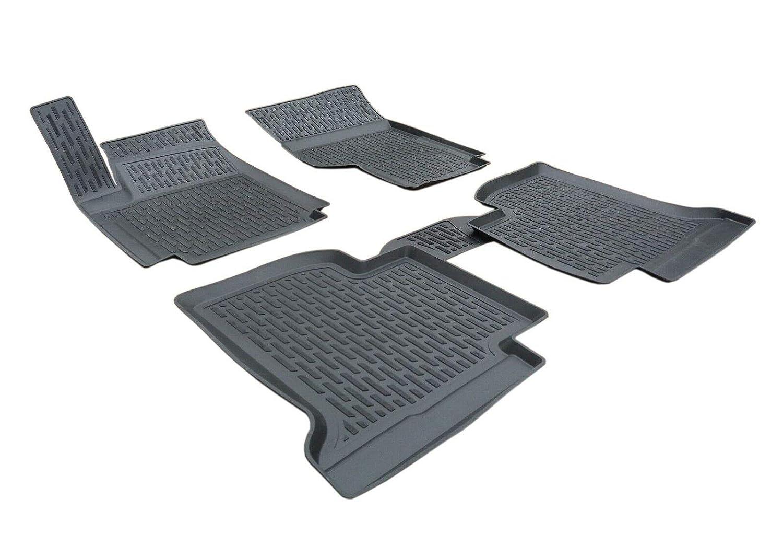 3D Tapis DE Sol en Caoutchouc Premium Compatible avec AMAROK 4 Portes 2010-pr/és SCOUTT
