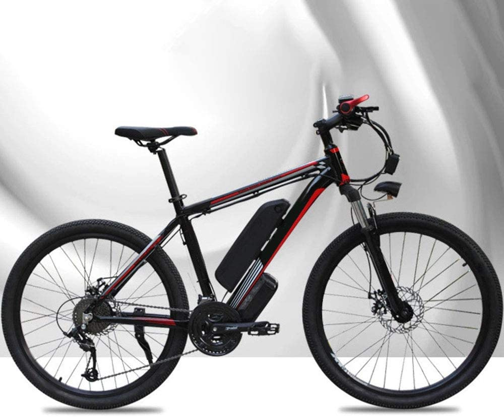 """Chicstyleme Bicicletas Electricas Plegables Ligeras Bicicleta Eléctrica Ciudad/Montaña con Batería de Litio Desmontable Aleación de Aluminio, con Alta Potencia de 350 Vatios,26"""", 48 V, 15AH: Amazon.es: Deportes y aire libre"""