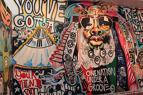 GRAFFITI STREET ART GEORGE CLINTON GIANT ART PRINT HOME DECOR NEW POSTER OZ1827 - George Street Shops