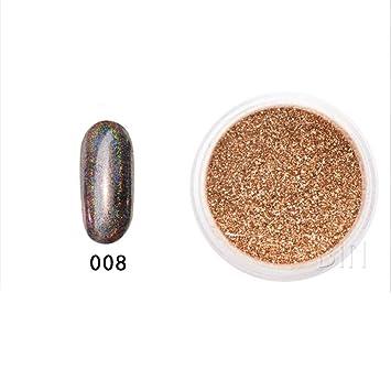 6029ec2c60 Amazon.com : Nail Powder, Mirror Powder Glitter Nail Art Glitter ...