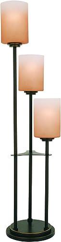 Lite Source LS-20700D/BRZ Bess 3-Light Table Lamp