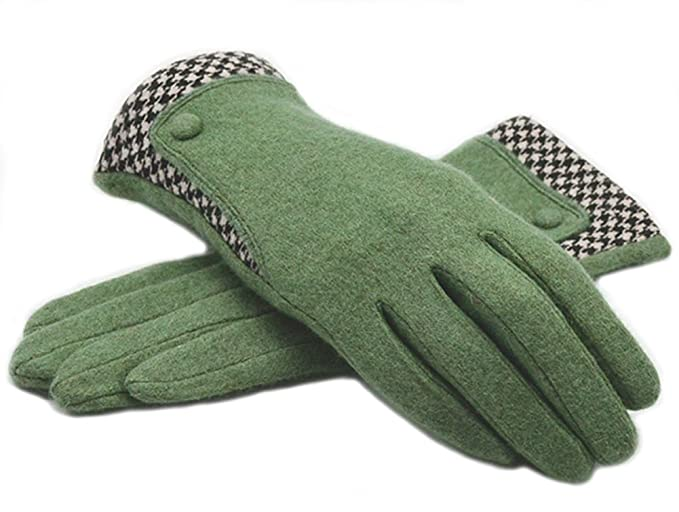 Vintage Style Gloves- Long, Wrist, Evening, Day, Leather, Lace Lenikis Womens Winter Warm Smart Texting Wool Gloves with Touch Screen Fingers $11.99 AT vintagedancer.com