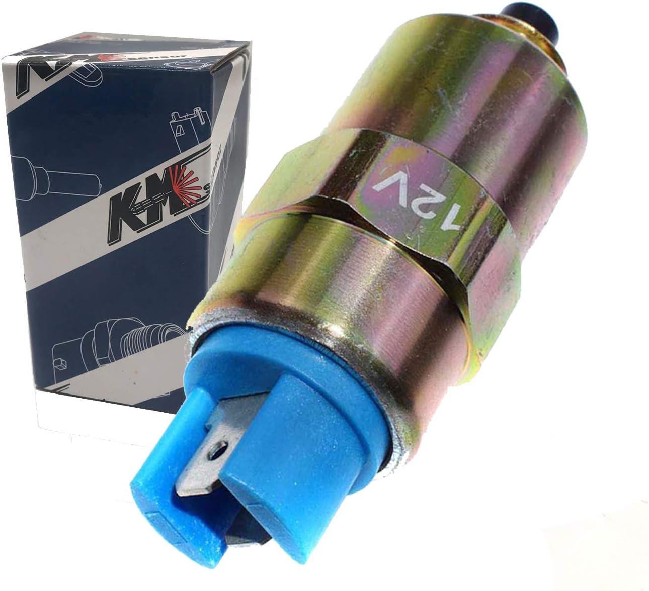 kmdiesel 7167-620D 12V Shut off Solenoid For Perkins 1000 Series Engine 1000 DPA DPS CAV LUCAS 7185-900T 7167-620C 28730179 tractor