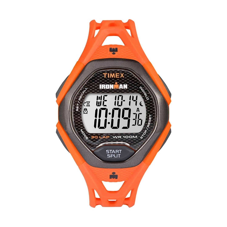 Timex Ironman Sleek 30 Lap Watchフルサイズオレンジ オレンジ  オレンジ B07772VJ9F