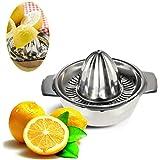 Decdeal Presse-Agrumes Manuel Inox Presse-Citron pour Jus d'Orange de Citron