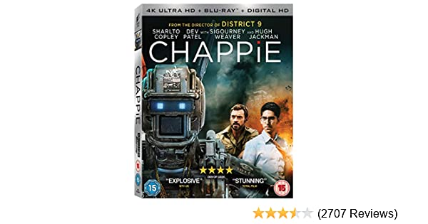Amazon.com: Chappie: Hugh Jackman, Sigourney Weaver, Dev ...