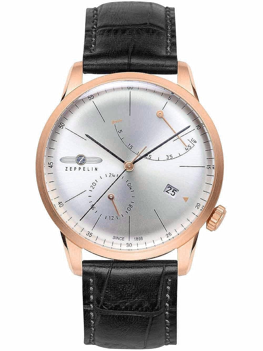 [ツェッペリン] ZEPPELIN  ブランド腕時計  ドイツ製 flatline フラットラインシリーズ 自動巻 パワーリザーブ 7368-4 【並行輸入品】 B00U72DT54