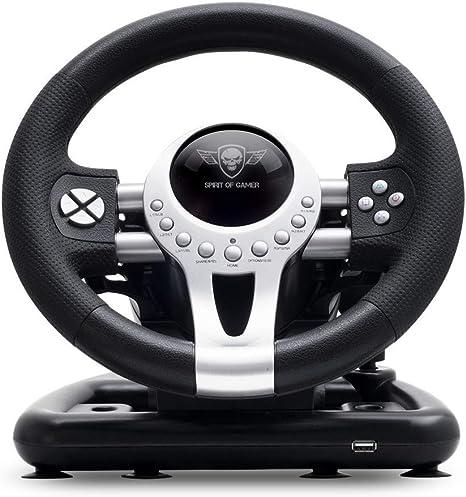 SPIRIT OF GAMER – RACE WHEEL PRO 2 – Volante De Juego Con Pedales ...