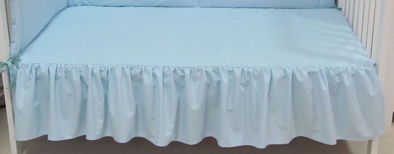 60x120, blau Babymajawelt/® Bettvolant Betthuse Spannbetttuch Baumwolle Spannbettlaken f/ür Babybett 70x140 oder 60x120cm