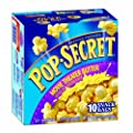 Pop Secret Snack Size Movie Theater Butter, Microwavable Popcorn, 10-Count, 17.5-Ounce Box (Pack of 3) from Pop Secret