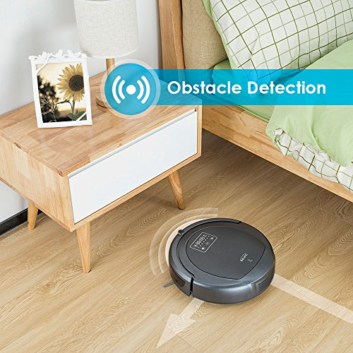 INLIFE Robot Vacuum Cleaner With 3-stage Cleaning System