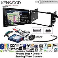 Kenwood Excelon DNX694S Double Din Radio Install Kit with GPS Navigation System Android Auto Apple CarPlay Fits 2003-2005 Chevrolet Blazer, 2003-2006 Silverado, Suburban (Bose, Onstar, SWC)