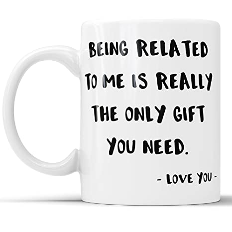 Amazon Funny Mug For Cousin Sister Brother