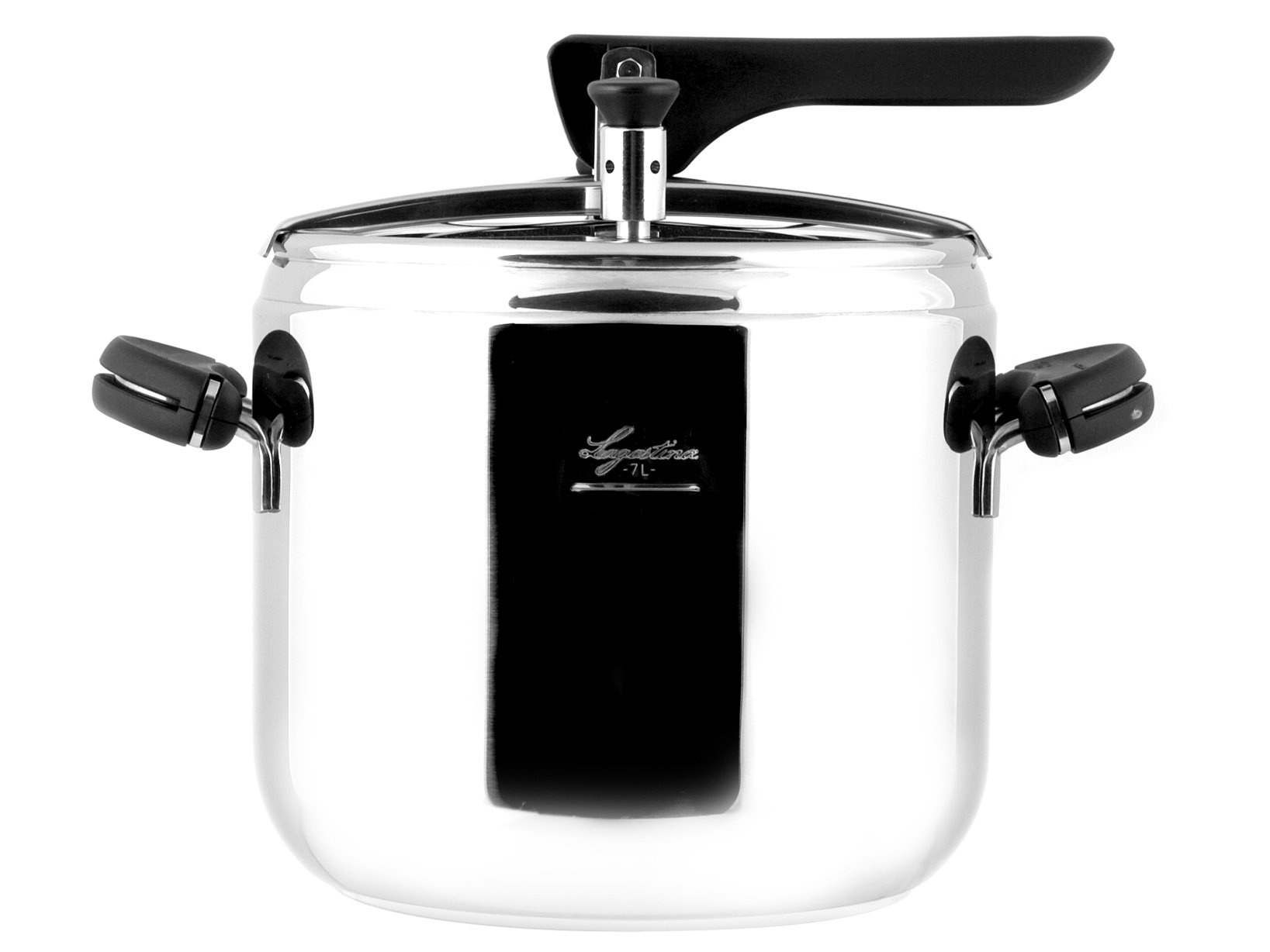 Lagostina Kitchen Idea: Pressure Cooker Mia Irradial Bottom , 7 Litres, Diameter 22cm. Receptacle And Basket Included