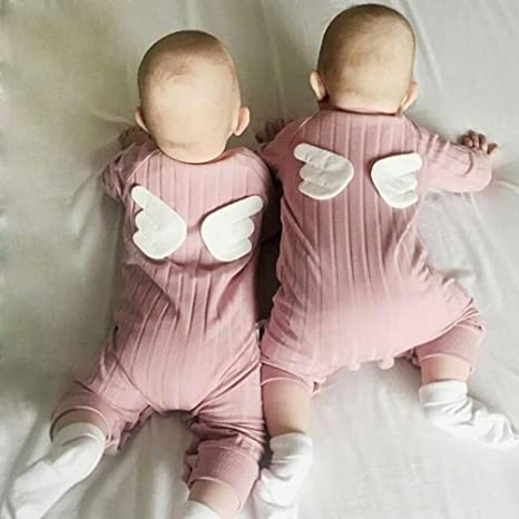 Amazon.com: Para regalo. Recién nacido niño niña Pelele bebé ...