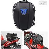 Mochila impermeável para cauda de motocicleta – 12-15L dupla alforje grande capacidade, bolsa para assento de bagagem, bolsa