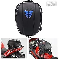 Mochila impermeável para cauda de motocicleta – 12-15L dupla alforje grande capacidade, bolsa para assento de bagagem…