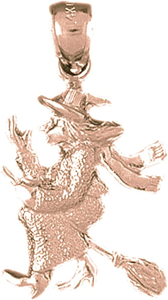 Sterling Silver 925 Deer Pendant 23 mm Jewels Obsession Deer Pendant