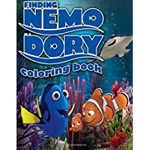 Finding Nemo Dory Coloring Book: Dinsey, Pixar , Great coloring pages for kids (ages 3-9)