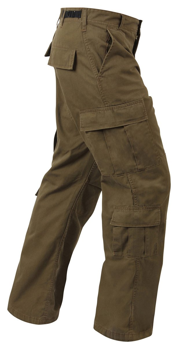 Vintage Paratrooper Cargo Pants, Russet Rothco