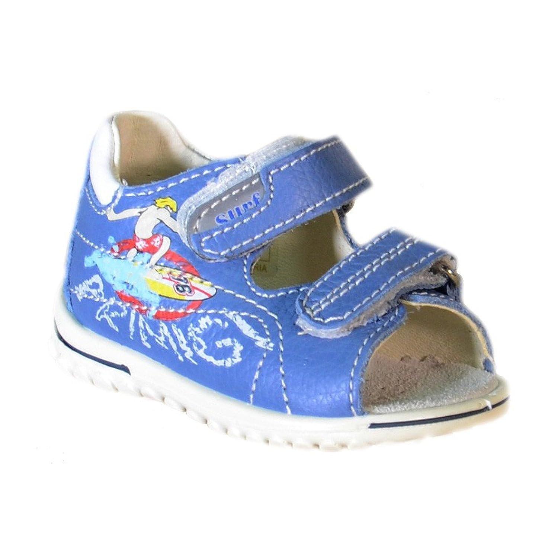 Primigi - Primigi Sandaletti Bambino Azzurri Pelle Strappi 49841 - Azzurro, 20