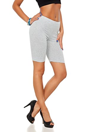 3bc7b34170321 FUTURO FASHION Cotton Leggings 1/2 Length Over-Knee Shorts Active Sport  Casual Pants LK: Amazon.co.uk: Clothing