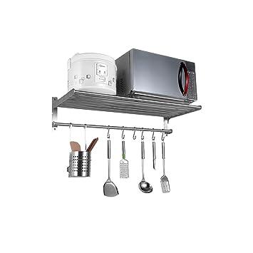 Cocina de acero inoxidable Parrillas de horno de microondas montado en la pared de 1 capa