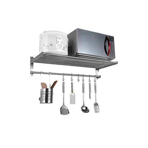 Acero inoxidable Bastidores de horno de microondas de cocina ...