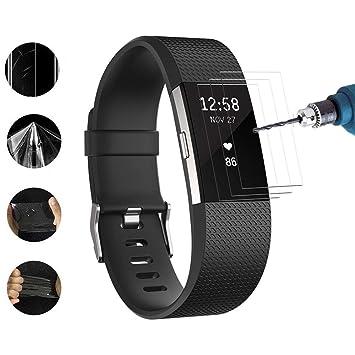Vicstar [3 Pièces] Fitbit Charge 3 Protection Ecran Film de ...