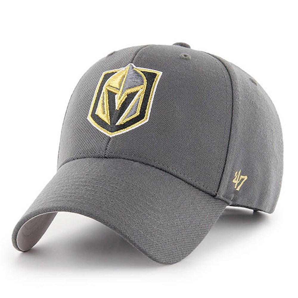 33063e8504b029 Amazon.com: '47 Brand Las Vegas Golden Knights MVP Hat Cap Charcoal Grey:  Sports & Outdoors