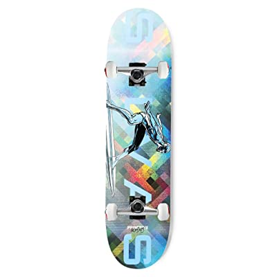 "Primitive Skateboard Assembly Moebius Marvel Silvas Silver Surfer 8.38"" : Sports & Outdoors"