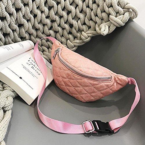 Solide PU épaule Tour Sacs Ceinture Simple Trendy de Couleur C Packs Taille décontracté Femme xintiandi qaFwpdq