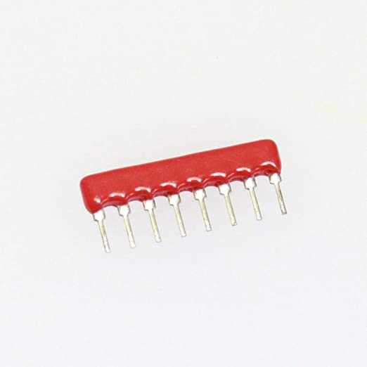 Resistor Networks /& Arrays 2.2K 8Pin Bussed 5 pieces