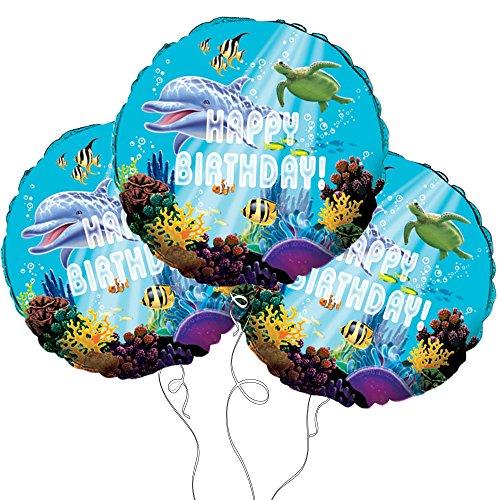 Ocean Party Mylar Balloon 18