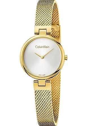 Calvin Armband Uhr K8g23526 Damen Klein Analog Mit Paqué Quarz Or 543RqSAjcL