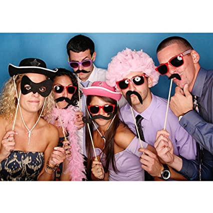 Amazon com: Hens Party Prop Photo Booth Stick Props 2018 hot Sale
