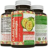 Garcinia Cambogia Raw 95% HCA Extract Weight Loss Pills for Women and Men - Fat Burning Supplements for Abs Legs and Arms - Antioxidant Complex for a Strong Immune System by California Products