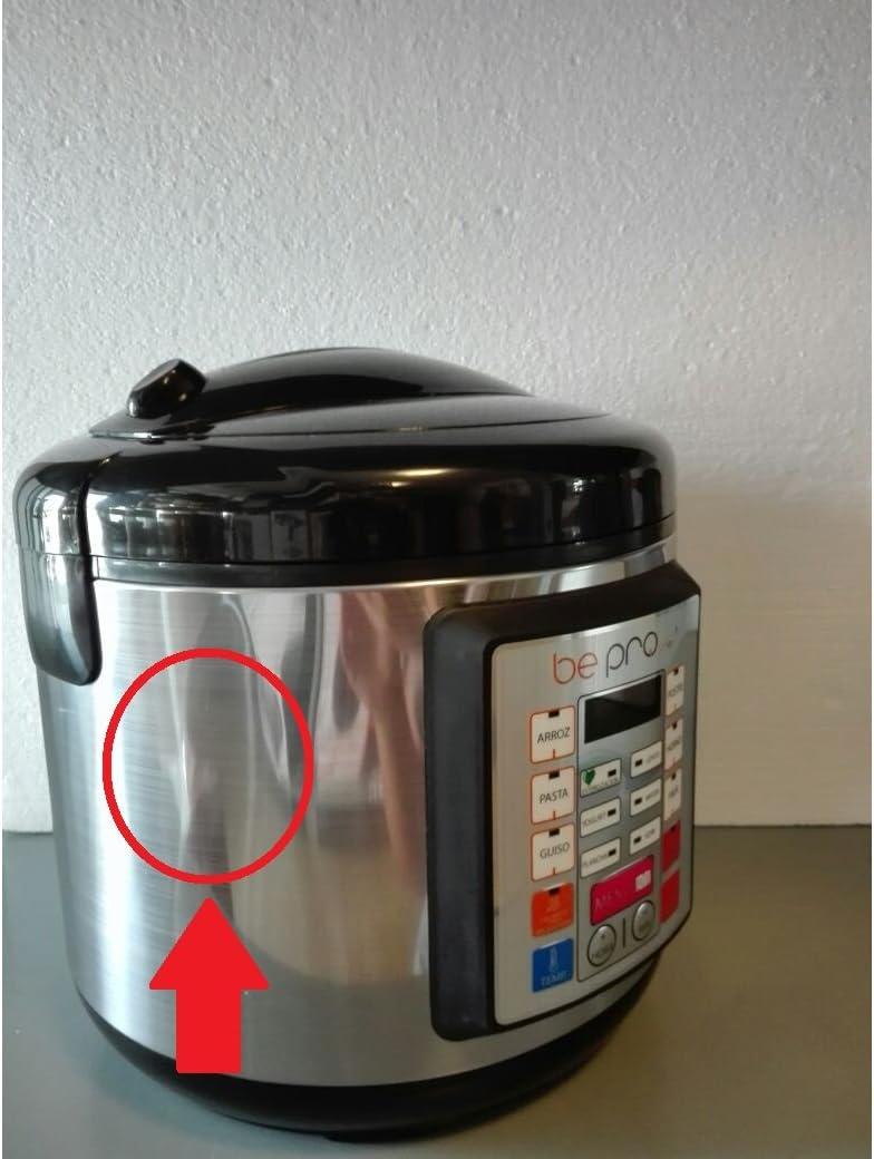 Top SHOP BePro Chef Robot de cocina Potencia: 900 W. para cocción ...