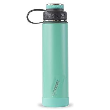 Amazon.com: EcoVessel Boulder Botella de agua aislada TriMax ...