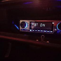 Amazon Co Jp カスタマーレビュー Bluetooth付きカーステレオ Usb Sd Auxポート付きカーラジオ カーオーディオfmラジオ デジタルmp3プレーヤー ワイヤレスリモコン付きハンズフリー通話