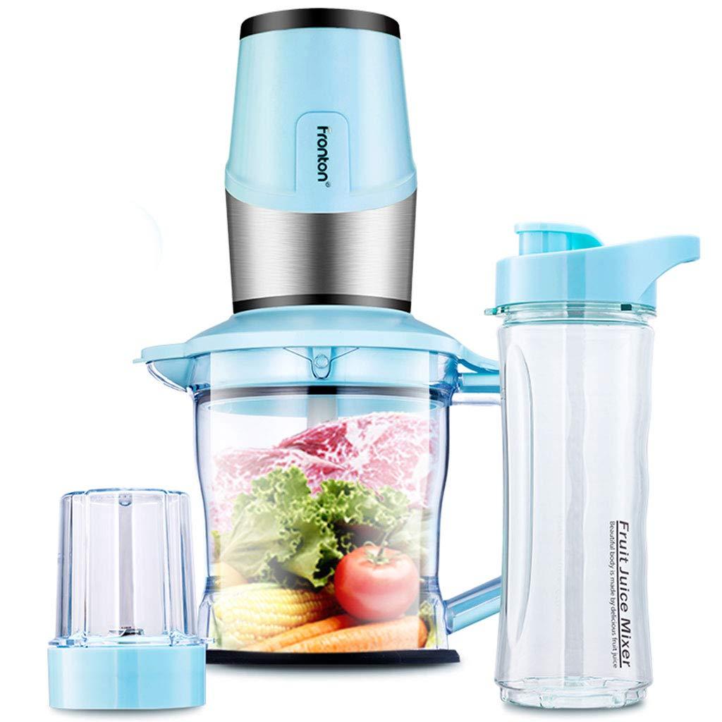 Ozigwpa3 Juicer- Mini exprimidor doméstico - Mezclador automático Multifuncional de Frutas y Verduras (Color : Azul): Amazon.es