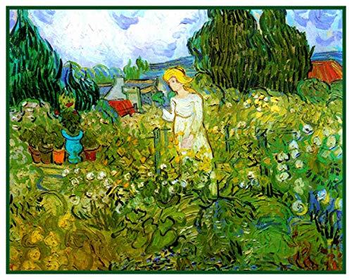 - Orenco Originals Marguerite Gachet in the Garden Vincent Van Gogh Counted Cross Stitch PATTERN