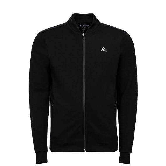 Le Coq Sportif Tech FZ Sweat N°2 M Black Sudadera, Hombre: Amazon ...