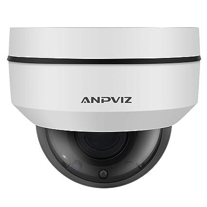 1080P IP Cámara Domo PTZ Cámara de Seguridad Zoom óptico 5X Interior/Exterior IP66 Resistente