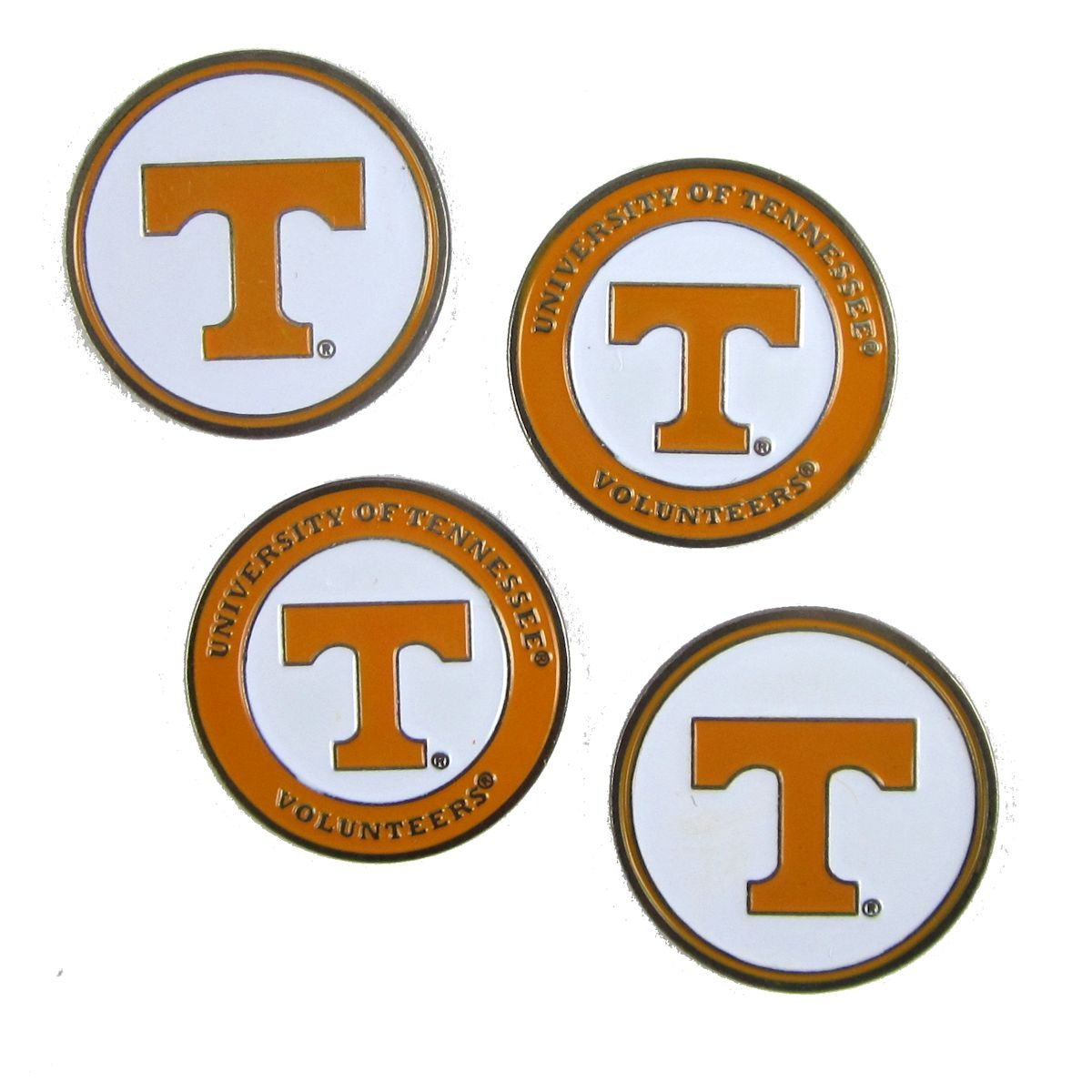 4 Tennessee Volunteers Golf Ball Markers
