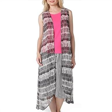 c2927821ac Steve Madden Aztec Print Vest at Amazon Women s Clothing store