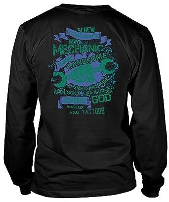 Amazon.com: Screw Prince Charming My Mechanic Camiseta de ...