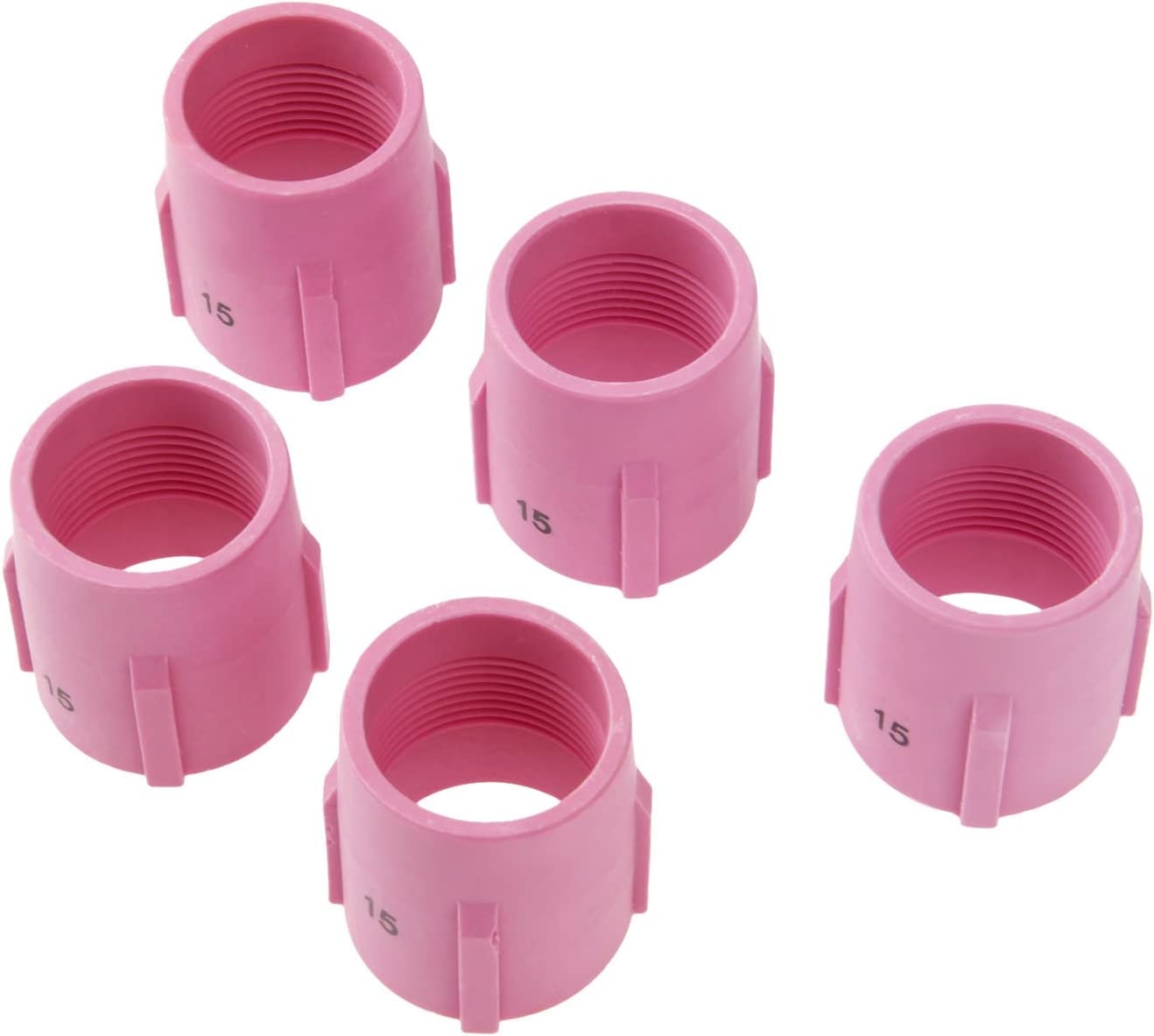 10-pk 53N89 #15 Large Ceramic Gas Lens Cup Nozzle for TIG Welding Torch