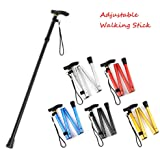 Andrewxdi Folding Collapsible Trekking Pole - Hiking Pole - Portable Trail Poles - Trekking Poles - Lightweight Climbing Stick - Walking Stick - Hiking Stick - Folding Cane for Travel